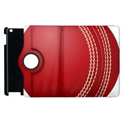 Cricket Ball Apple Ipad 2 Flip 360 Case