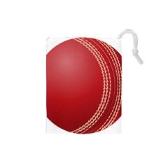 Cricket Ball Drawstring Pouches (Small)
