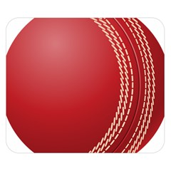 Cricket Ball Double Sided Flano Blanket (small)