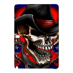 Confederate Flag Usa America United States Csa Civil War Rebel Dixie Military Poster Skull Samsung Galaxy Tab Pro 10.1 Hardshell Case