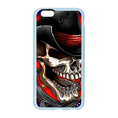 Confederate Flag Usa America United States Csa Civil War Rebel Dixie Military Poster Skull Apple Seamless iPhone 6/6S Case (Color)