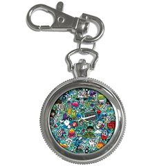 Comics Collage Key Chain Watches