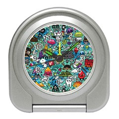 Comics Collage Travel Alarm Clocks
