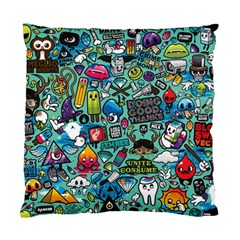 Comics Collage Standard Cushion Case (one Side)