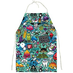 Comics Collage Full Print Aprons