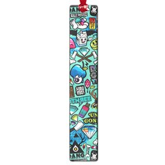 Comics Collage Large Book Marks