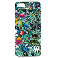 Comics Collage Apple iPhone 5 Hardshell Case with Stand