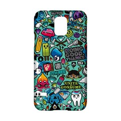 Comics Collage Samsung Galaxy S5 Hardshell Case