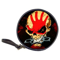 Five Finger Death Punch Heavy Metal Hard Rock Bands Skull Skulls Dark Classic 20-CD Wallets
