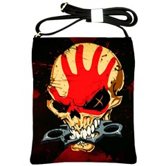 Five Finger Death Punch Heavy Metal Hard Rock Bands Skull Skulls Dark Shoulder Sling Bags