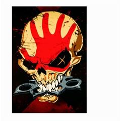 Five Finger Death Punch Heavy Metal Hard Rock Bands Skull Skulls Dark Large Garden Flag (two Sides)
