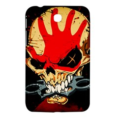 Five Finger Death Punch Heavy Metal Hard Rock Bands Skull Skulls Dark Samsung Galaxy Tab 3 (7 ) P3200 Hardshell Case