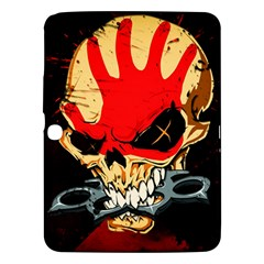 Five Finger Death Punch Heavy Metal Hard Rock Bands Skull Skulls Dark Samsung Galaxy Tab 3 (10.1 ) P5200 Hardshell Case