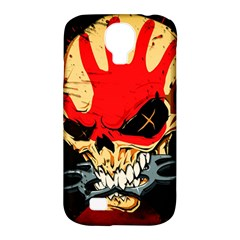 Five Finger Death Punch Heavy Metal Hard Rock Bands Skull Skulls Dark Samsung Galaxy S4 Classic Hardshell Case (PC+Silicone)