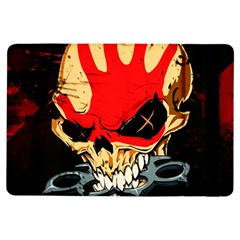 Five Finger Death Punch Heavy Metal Hard Rock Bands Skull Skulls Dark iPad Air Flip