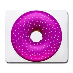 Donut Transparent Clip Art Large Mousepads