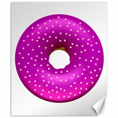 Donut Transparent Clip Art Canvas 8  x 10