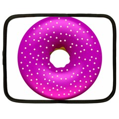 Donut Transparent Clip Art Netbook Case (large)