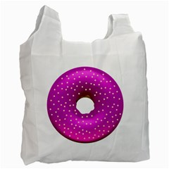 Donut Transparent Clip Art Recycle Bag (Two Side)