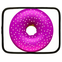 Donut Transparent Clip Art Netbook Case (XXL)