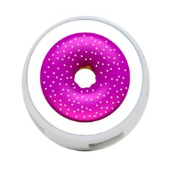 Donut Transparent Clip Art 4-Port USB Hub (Two Sides)