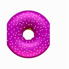 Donut Transparent Clip Art Small Garden Flag (two Sides)
