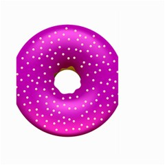 Donut Transparent Clip Art Large Garden Flag (two Sides)