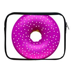 Donut Transparent Clip Art Apple Ipad 2/3/4 Zipper Cases