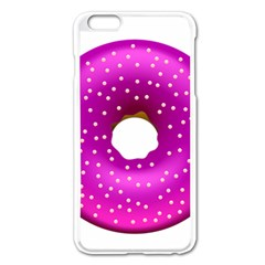 Donut Transparent Clip Art Apple iPhone 6 Plus/6S Plus Enamel White Case