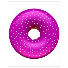 Donut Transparent Clip Art Drawstring Bag (Small)