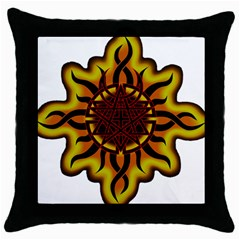Disturbed Is An American Heavy Metal Band Logo Throw Pillow Case (black)