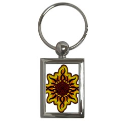 Disturbed Is An American Heavy Metal Band Logo Key Chains (Rectangle)