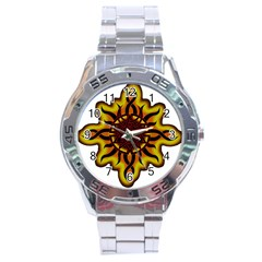 Disturbed Is An American Heavy Metal Band Logo Stainless Steel Analogue Watch