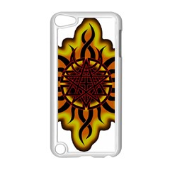 Disturbed Is An American Heavy Metal Band Logo Apple iPod Touch 5 Case (White)