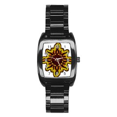 Disturbed Is An American Heavy Metal Band Logo Stainless Steel Barrel Watch