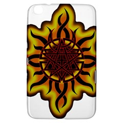 Disturbed Is An American Heavy Metal Band Logo Samsung Galaxy Tab 3 (8 ) T3100 Hardshell Case
