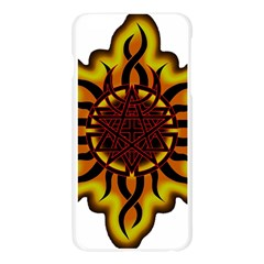 Disturbed Is An American Heavy Metal Band Logo Apple Seamless iPhone 6 Plus/6S Plus Case (Transparent)