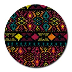 Ethnic Pattern Round Mousepads