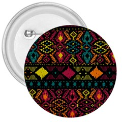 Ethnic Pattern 3  Buttons