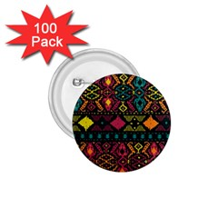 Ethnic Pattern 1 75  Buttons (100 Pack)