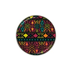 Ethnic Pattern Hat Clip Ball Marker