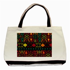 Ethnic Pattern Basic Tote Bag