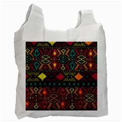Ethnic Pattern Recycle Bag (one Side)