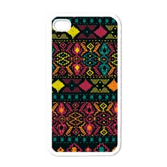 Ethnic Pattern Apple iPhone 4 Case (White)