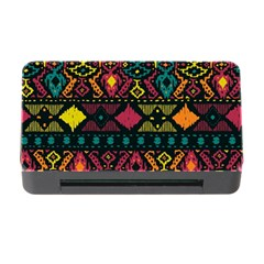 Ethnic Pattern Memory Card Reader with CF