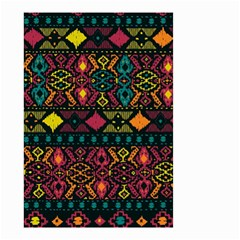 Ethnic Pattern Small Garden Flag (two Sides)