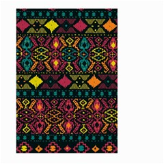 Ethnic Pattern Large Garden Flag (two Sides)