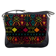 Ethnic Pattern Messenger Bags