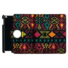 Ethnic Pattern Apple Ipad 3/4 Flip 360 Case