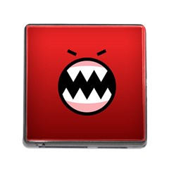 Funny Angry Memory Card Reader (square)